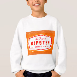 GINGER HIPSTER STYLE SWEATSHIRT