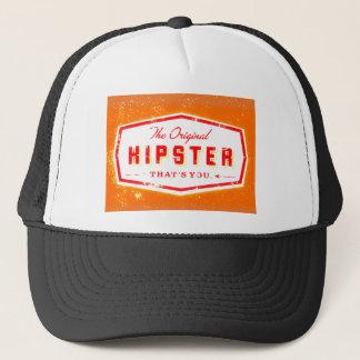 GINGER HIPSTER STYLE TRUCKER HAT