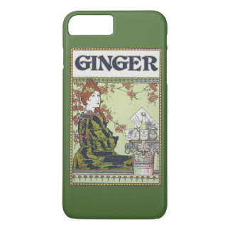 Ginger in vintage iPhone 7 plus case