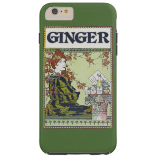 Ginger in vintage tough iPhone 6 plus case