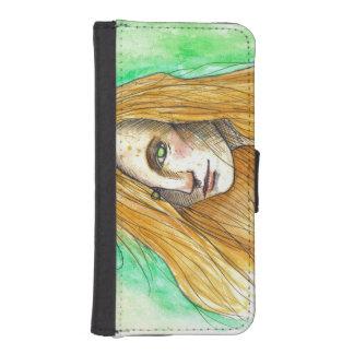 Ginger iPhone 5/5s Wallet Case