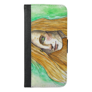 Ginger iPhone 6/6s Plus Wallet Case