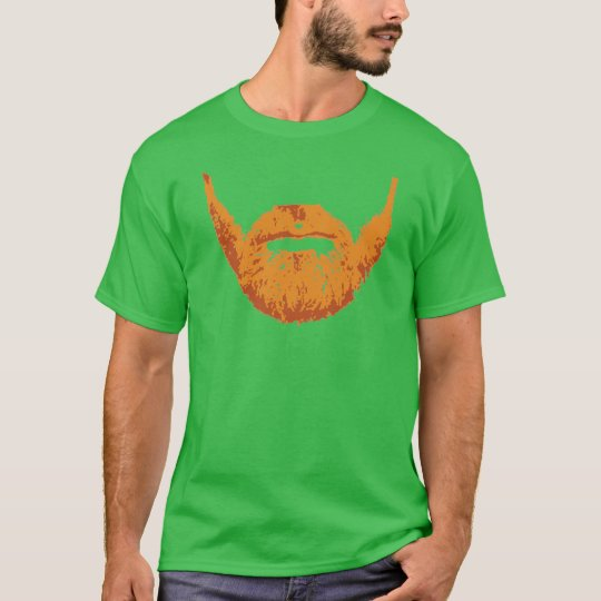 Ginger Irish Beard T-Shirt