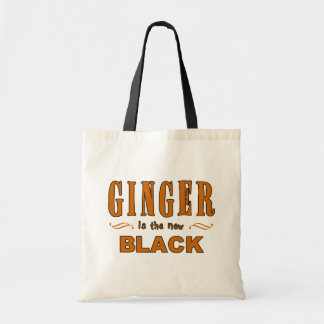 Ginger is the New Black Tote Bag