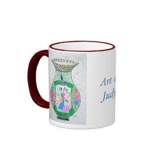 Ginger jar & Geisha Coffee Mug