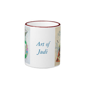 Ginger jar & Geisha Ringer Mug