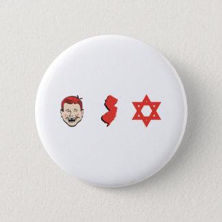 Ginger Jersey Jew 6 Cm Round Badge
