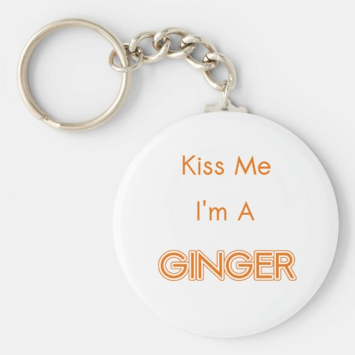 GINGER KEYCHAINS