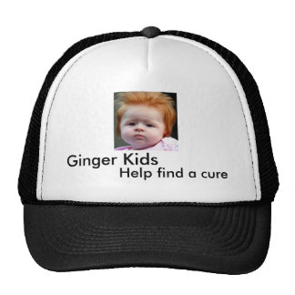 Ginger Kids Help find a cure Trucker Hat