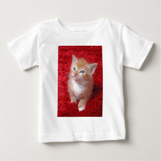 Ginger Kitten Baby T-Shirt