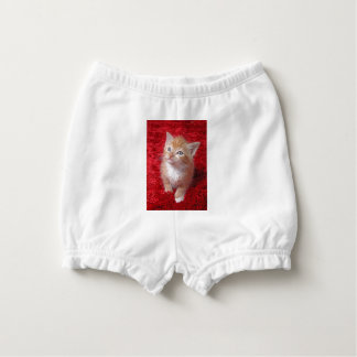 Ginger Kitten Nappy Cover