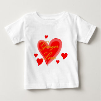 Ginger Love Baby T-Shirt