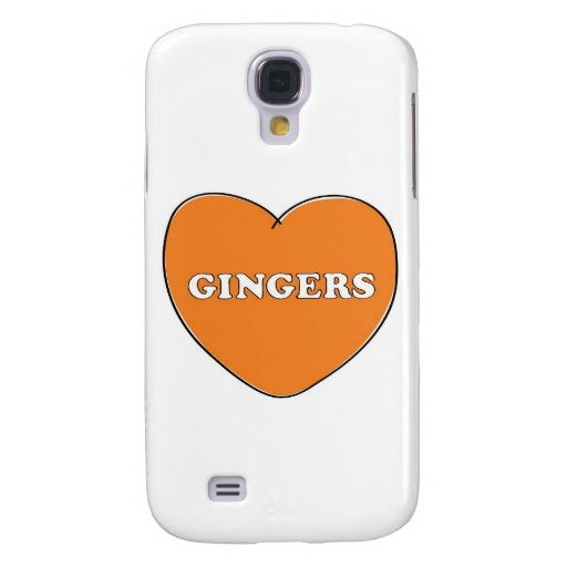 Ginger Love Samsung Galaxy S4 Covers