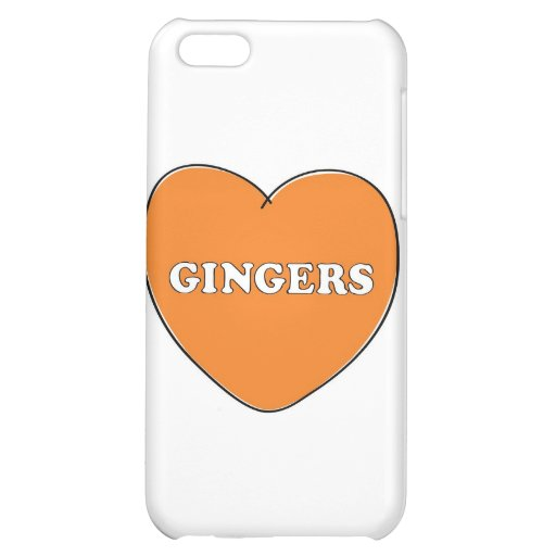 Ginger Love iPhone 5C Cases