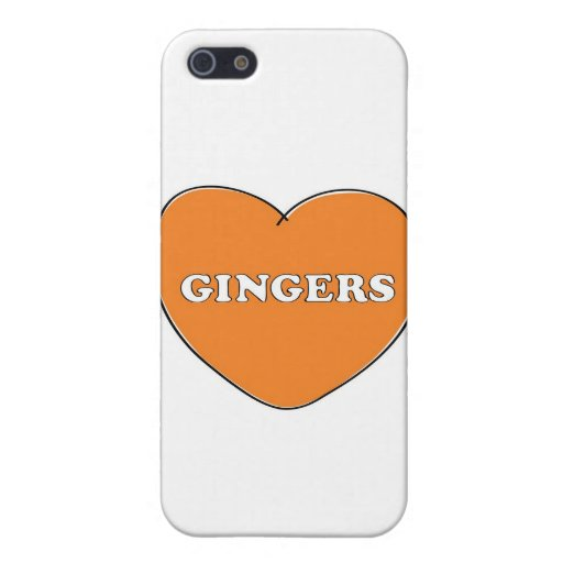 Ginger Love Cases For iPhone 5