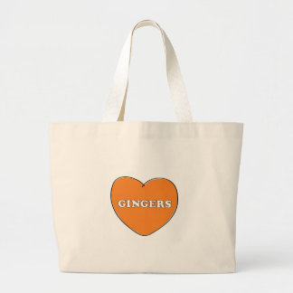 Ginger Love Large Tote Bag