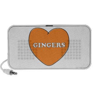 Ginger Love Speakers
