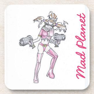 Ginger Mania Drawing Coaster