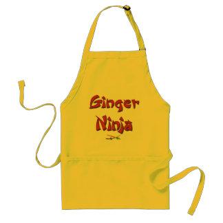 ginger Ninja apron 1