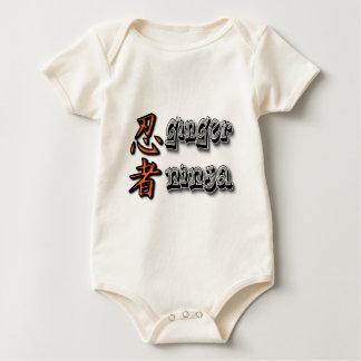 Ginger Ninja Baby Bodysuit