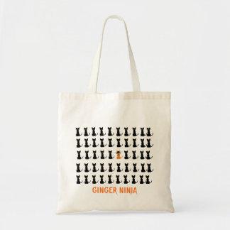 Ginger Ninja Budget Tote Bag