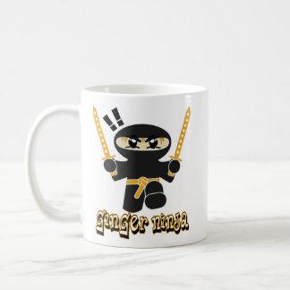 Ginger Ninja coffee mug ginga red-head