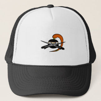 Ginger Ninja Figure 2 Trucker Hat