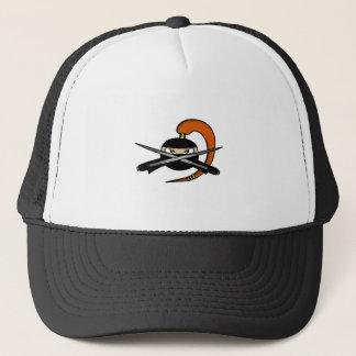 Ginger Ninja Figure 2 Trucker Hat