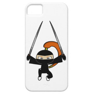 Ginger Ninja Figure 4 Barely There iPhone 5 Case