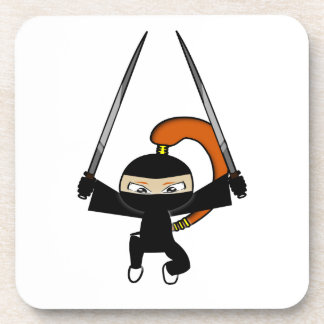 Ginger Ninja Figure 4 Coaster