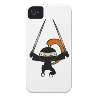 Ginger Ninja Figure 4 iPhone 4 Case-Mate Cases