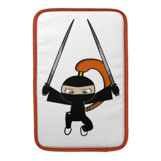 Ginger Ninja Figure 4 MacBook Sleeve