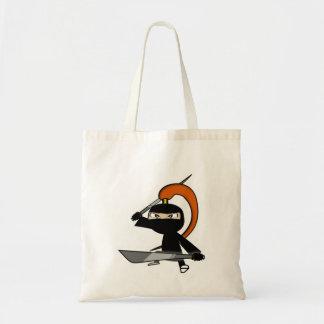 Ginger Ninja Figure 5 Tote Bag