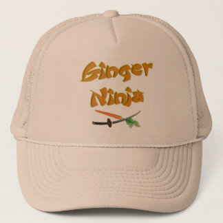 Ginger Ninja Hat 2