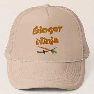 Ginger Ninja Hat 2