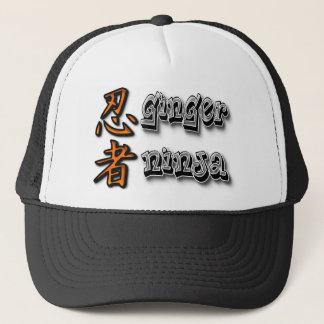 Ginger Ninja Trucker Hat