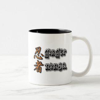 Ginger Ninja Two-Tone Coffee Mug