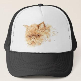 ginger persian trucker hat