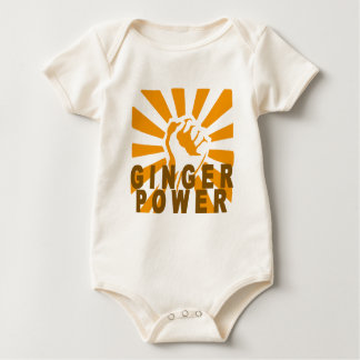 Ginger Power M.png Baby Bodysuit