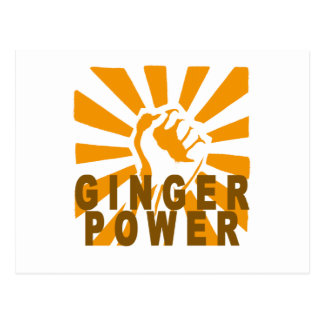 Ginger Power M.png Postcard