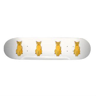 Ginger Red Shorthair Cat. Skate Board Decks