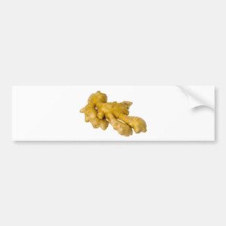 Ginger root bumper sticker