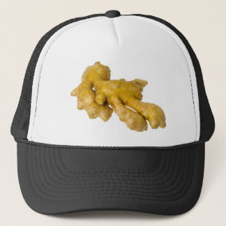 Ginger root trucker hat