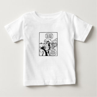 Ginger Scientist Monkey Baby T-Shirt