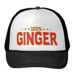 Ginger Star Tag Trucker Hats
