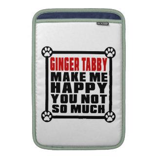 GINGER TABBY.png MacBook Sleeve