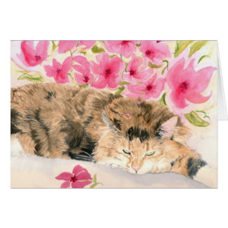 Ginger the Cat Greeting Cards