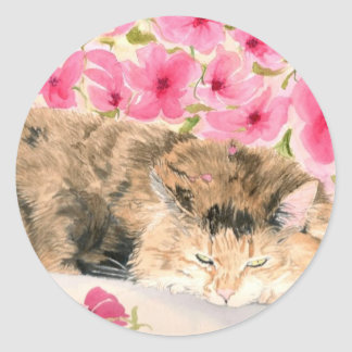 Ginger the Cat Stickers