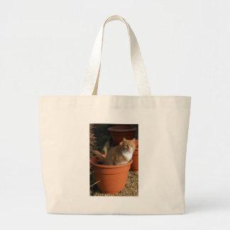 Ginger Tom Cat Tote Bag