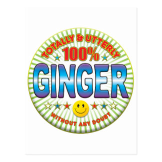 Ginger Totally Postcard
